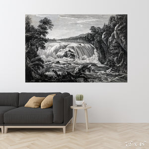 Waterfall Colossal Art Print
