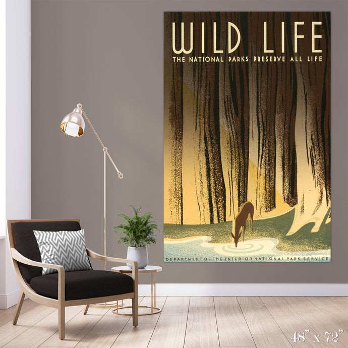 Wildlife Colossal Art Print