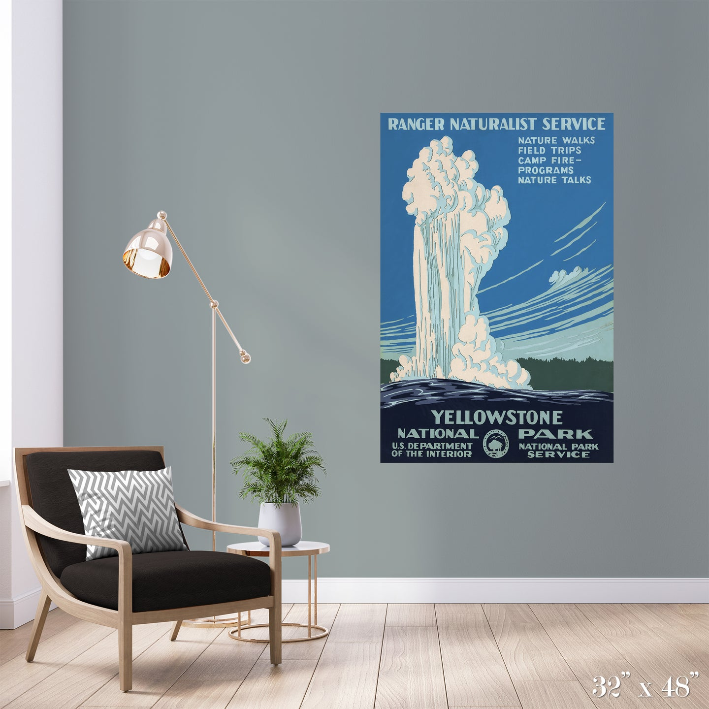 Yellowstone National Park Colossal Art Print