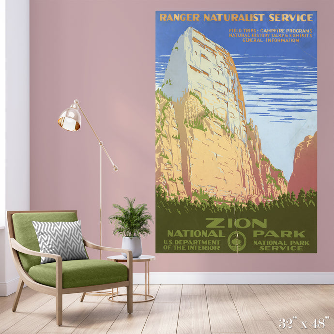 Zion National Park Colossal Art Print