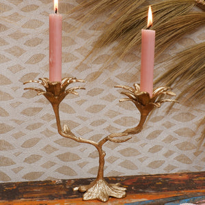 Palash Palm Candle Holder