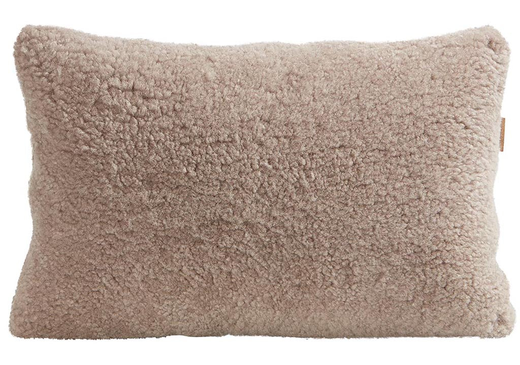 Classic Short Haired Sheepskin Pillow