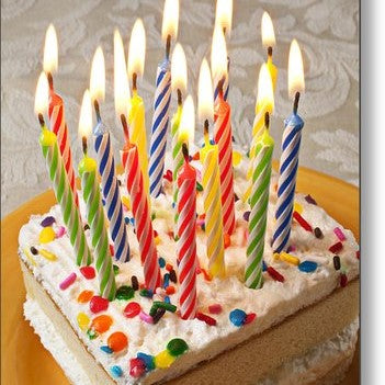 Birtday Candles (24) -Click on Photo for colours