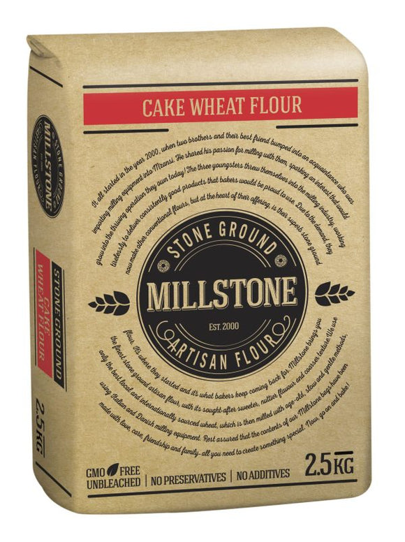 Cake Flour Stone Ground (2.5kg)
