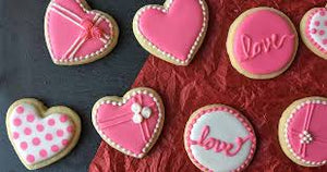ICED BISCUITS FOR VALENTINE - 8 February 2020