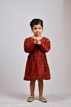 Load image into Gallery viewer, Silk maroon rahi butti