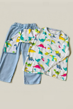 Load image into Gallery viewer, Funky Dino Top and Pant set