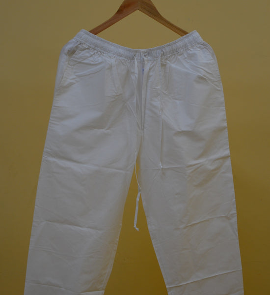 White Pajamas Menswear