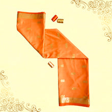 Load image into Gallery viewer, Yogini Orange saree