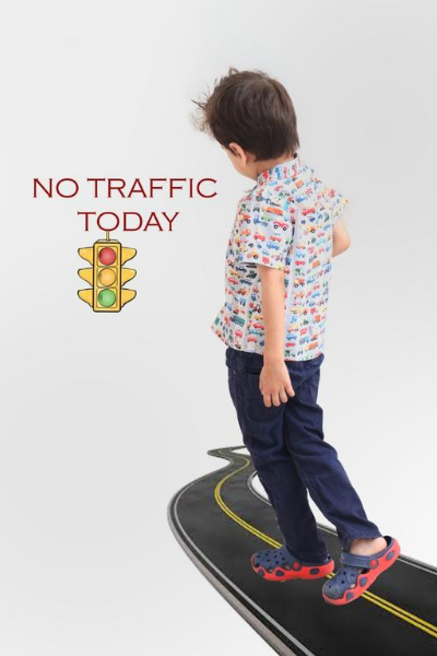 No Traffic shirt