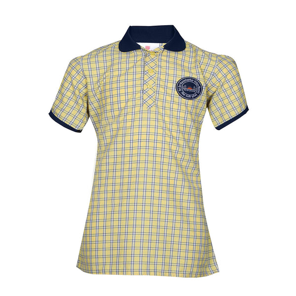 Puffed Sleeves Blouse without Ribbon- 3rd To 5th Std.