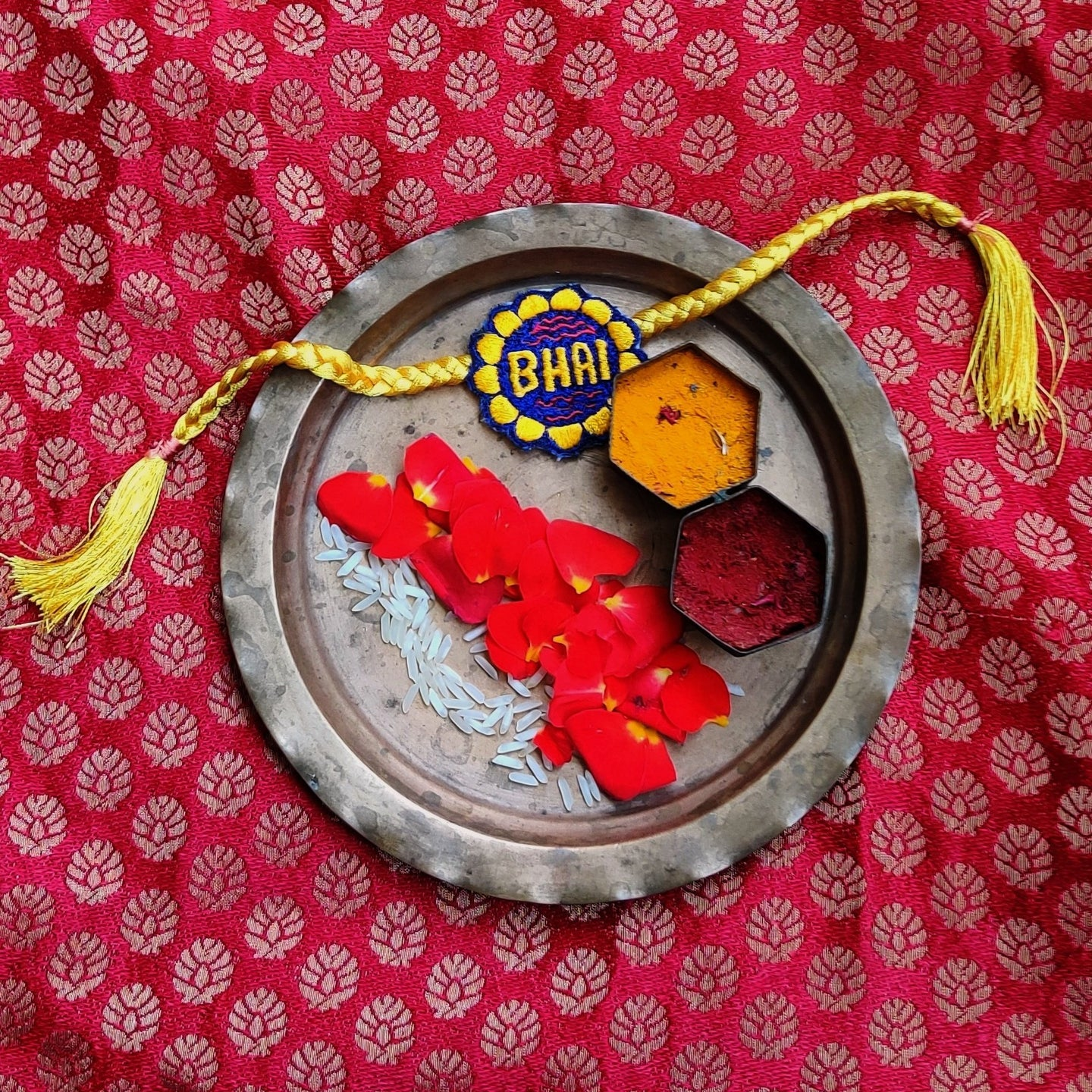 Bhai Rakhi (Set of 2)
