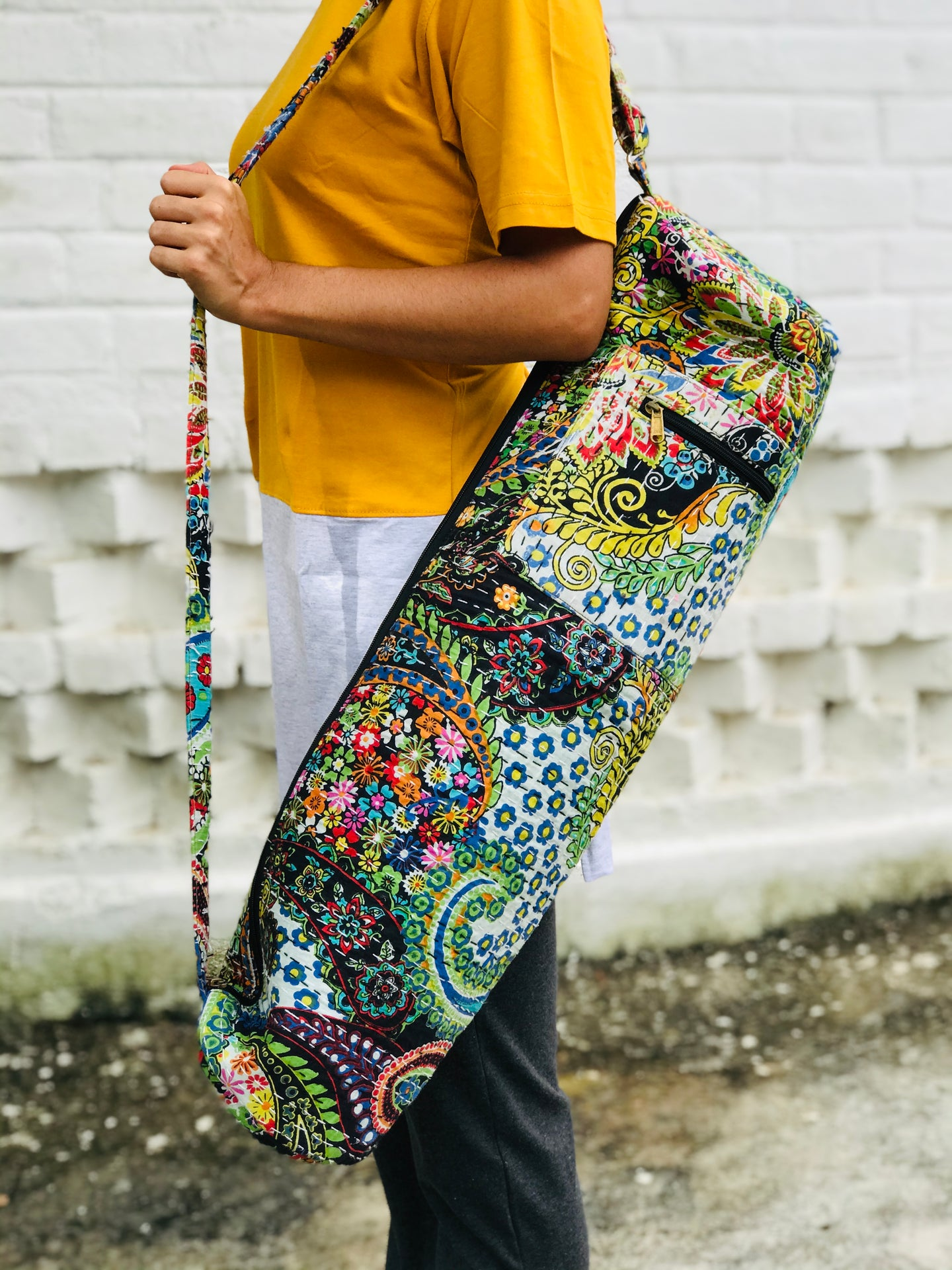 Yoga mat cover-Multicolor