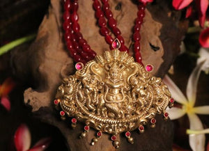 Krishna and Kaliya Necklace