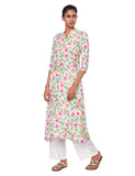 Floral Kurti with Buttons