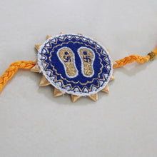 Load image into Gallery viewer, Guru paduka and Pyara bhai Rakhi (Set of 2)