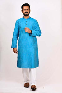 BYOGI Mens latest silk kurtas for festive.