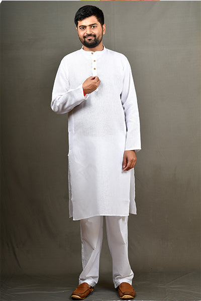 BYOGI jute kurta for men