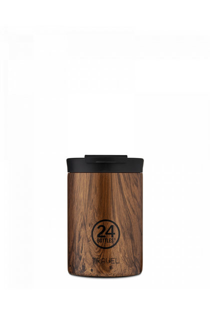 24bottles Travel Tumbler 350ML Sequoia Wood