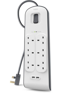 Belkin 2.4 Amp USB Charging 6-outlet Surge Protection Strip