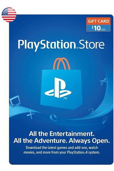 PlayStation Store Gift Card 10$USD