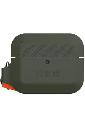 UAG - Silicone Case for Apple AirPods Pro-  Olive Drab/Orange