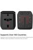 Elago Tripshell Travel Adapter, All in One, Dual USB - Black (TR-ADAPTER-USB-BK) - www.emarketkw.com