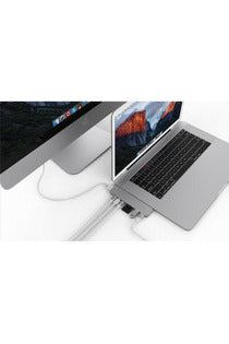 HyperDrive PRO 8-in-2 Hub for USB-C MacBook Pro/Air - Silver (GN28D)