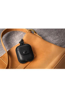 Twelve South Leather Case for AirPods - Black