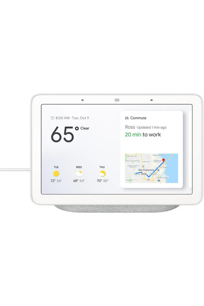 Google Home Hub with Google Assistant - Chalk