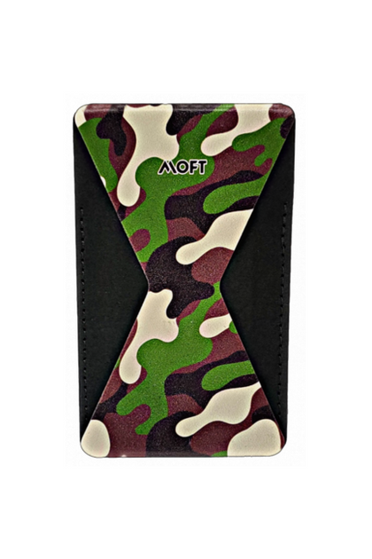 MOFT X Phone Stand With Card Holder - Camo Green