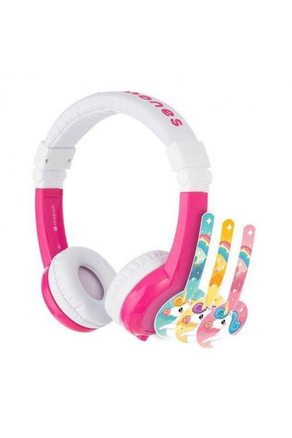 Buddyphones Unicorn Foldable With MIC - Pink