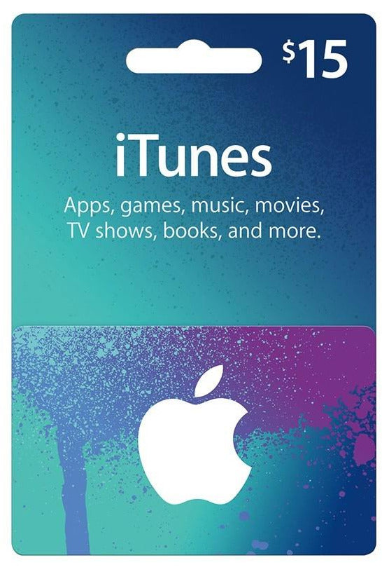 Apple iTunes Card 15$ - USA