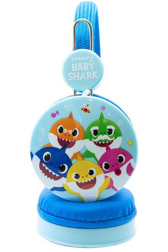 OTL Baby Shark Pink Headphones for Children Blue
