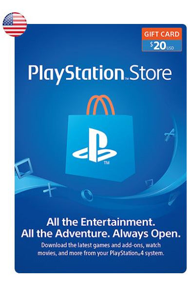 PlayStation Store Gift Card 20$USD