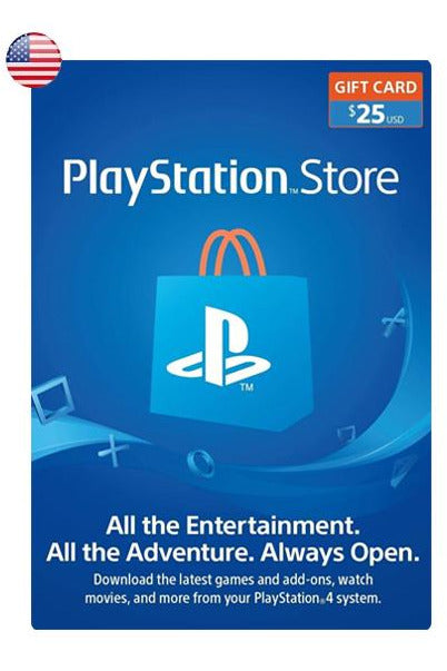 PlayStation Store Gift Card 25$USD
