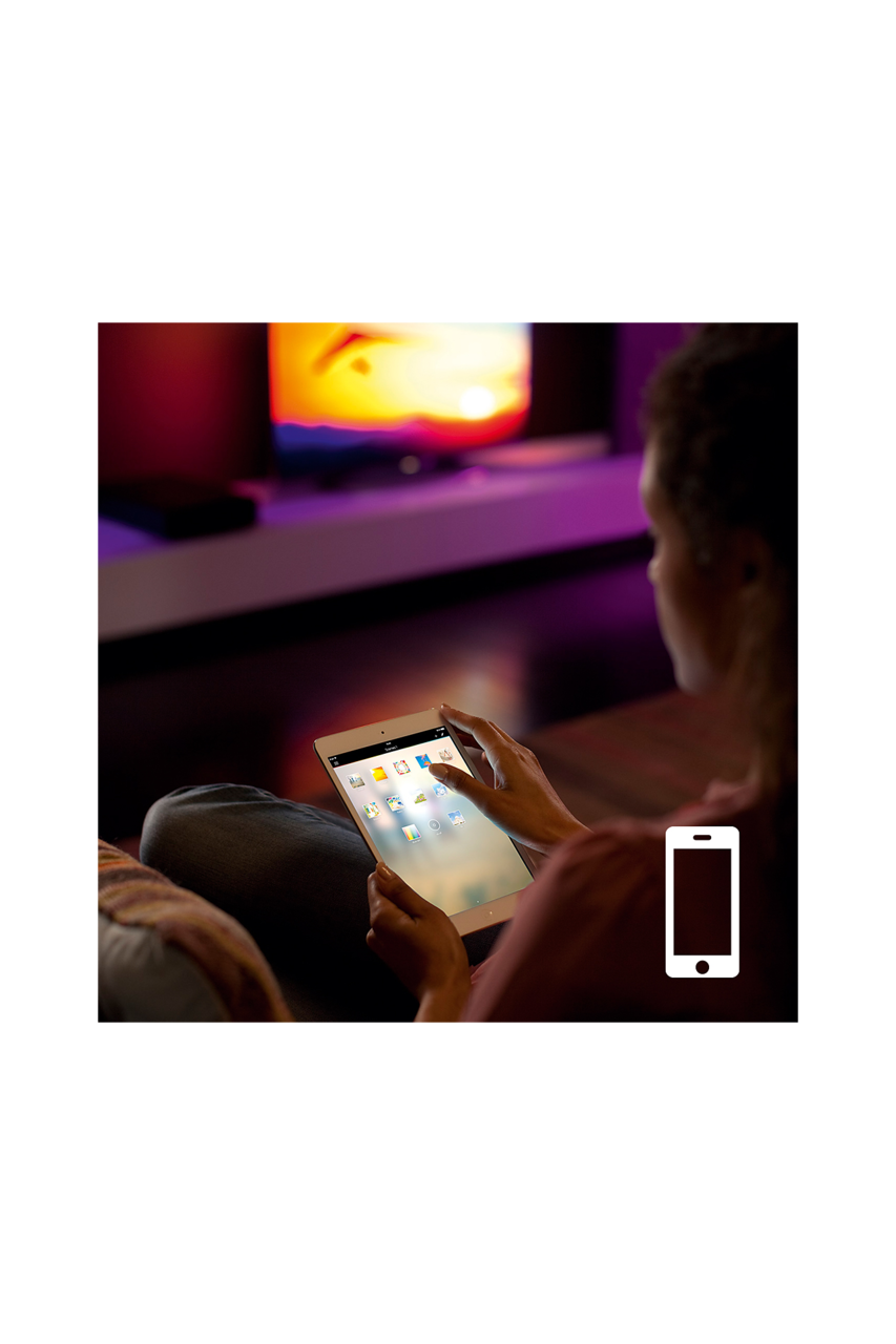 Philips Hue Lightstrip Plus Extension 1M White and color Ambiance (8718696129555) - www.emarketkw.com