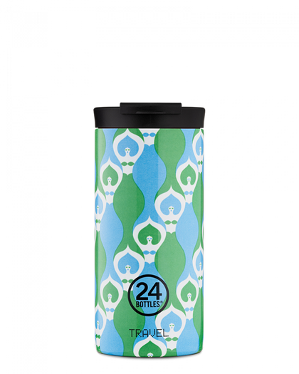 24bottles Travel Tumbler 600ML Green Blue