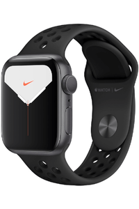 Apple Watch Series 5 (Only GPS) 40MM Space Gray Aluminum Case with Nike Sport Band Anthracite/Black