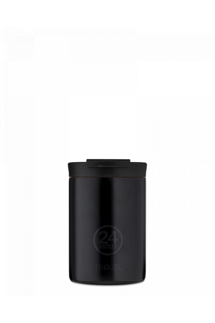 Alpha Cafe X Travel Tumbler 350ML Tuxedo Black