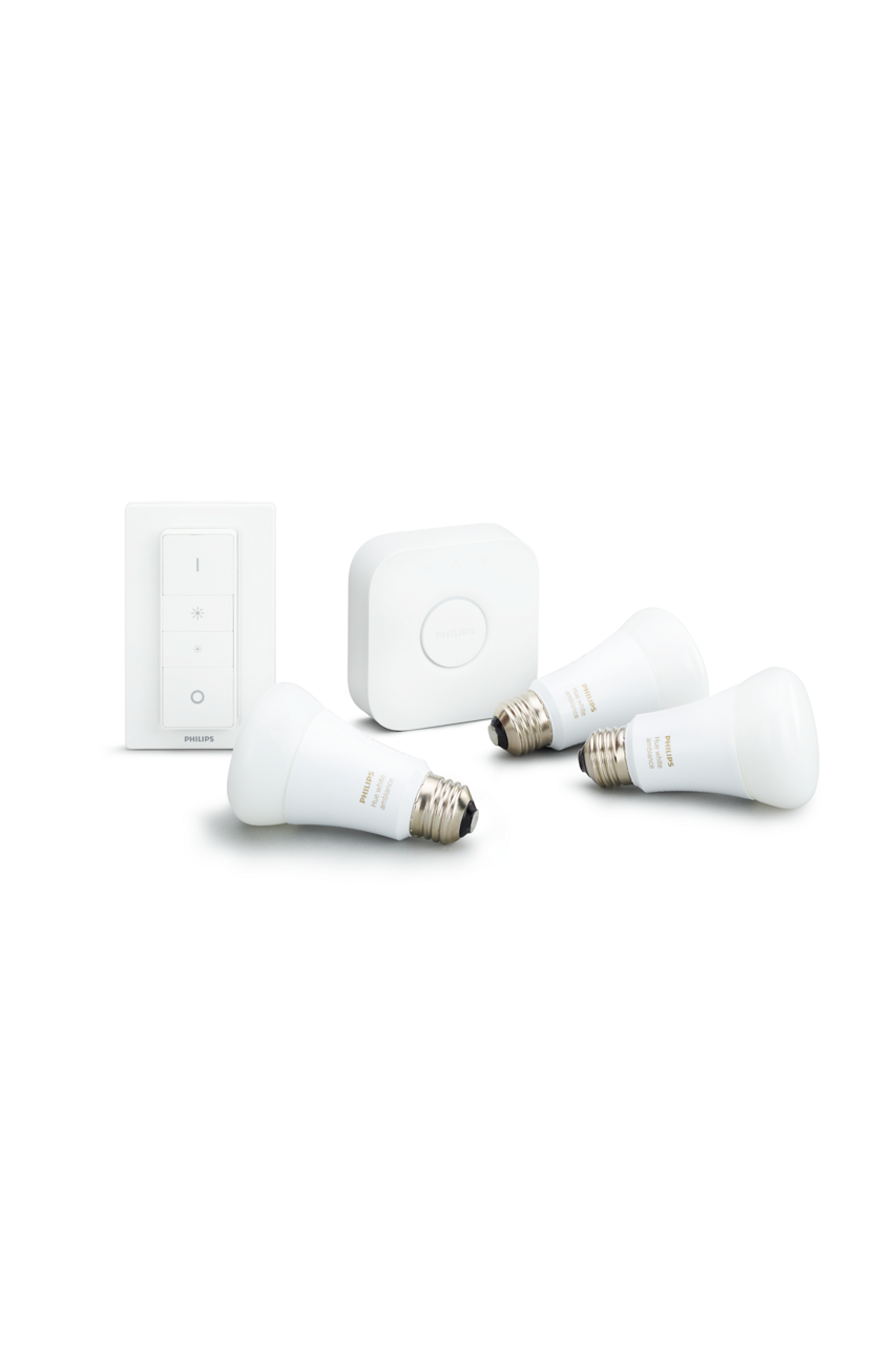 Philips Hue Starter kit E27, White Ambiance (929001200161) - www.emarketkw.com