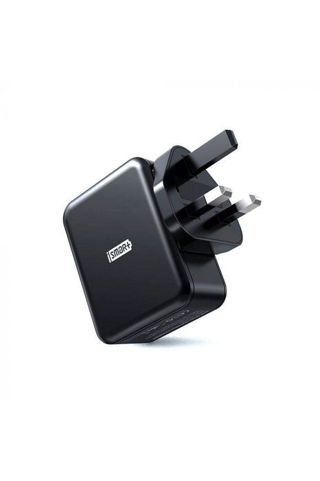 RAVPower / Wall Charger / COMBO [2-Pack] (Wall Charger 24W+Lightning Cable 1m) -Black ( RP-PC119) - www.emarketkw.com