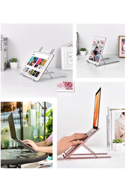 a stand for desktops / laptops and tablets
