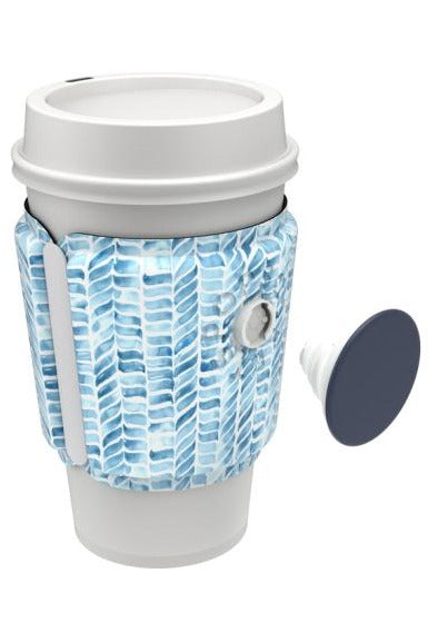 PopThirst Cup Sleeve in Painted Mosaic