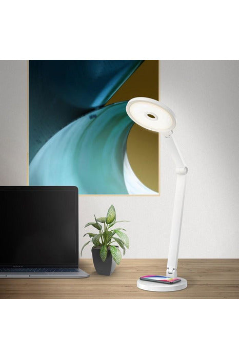 Momax Smart Desk Lamp with Wireless Charger - QL8SUKW