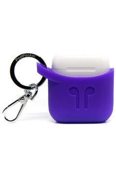 PodPocket Silicone Case for AirPod - Purple Rain (PP-1023) - www.emarketkw.com