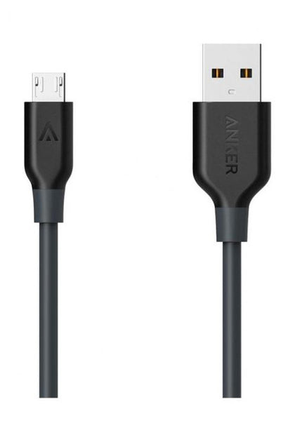 Anker PowerLine Micro USB Cable 6ft/1.8m - Black