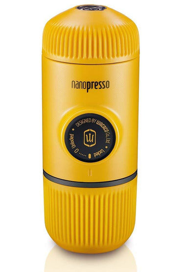 WACACO Nanopresso Portable Coffee Machine+Carrying Bag+Nanopresso NS Adapter - Yellow - www.emarketkw.com
