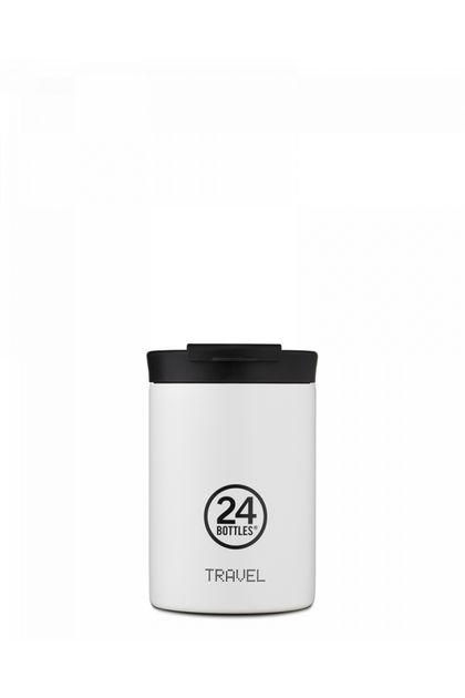 Alpha Cafe X Travel Tumbler 350ML ICE WHITE