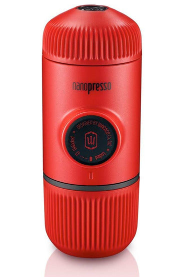 WACACO Nanopresso Portable Coffee Machine+Carrying Bag+Nanopresso NS Adapter - Red - www.emarketkw.com